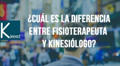Diferencia entre Kinesiología y Fisioterapia