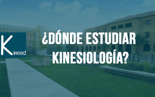 ¿Dónde estudiar Kinesiología?