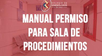 Manual de permiso para sala de procedimiento