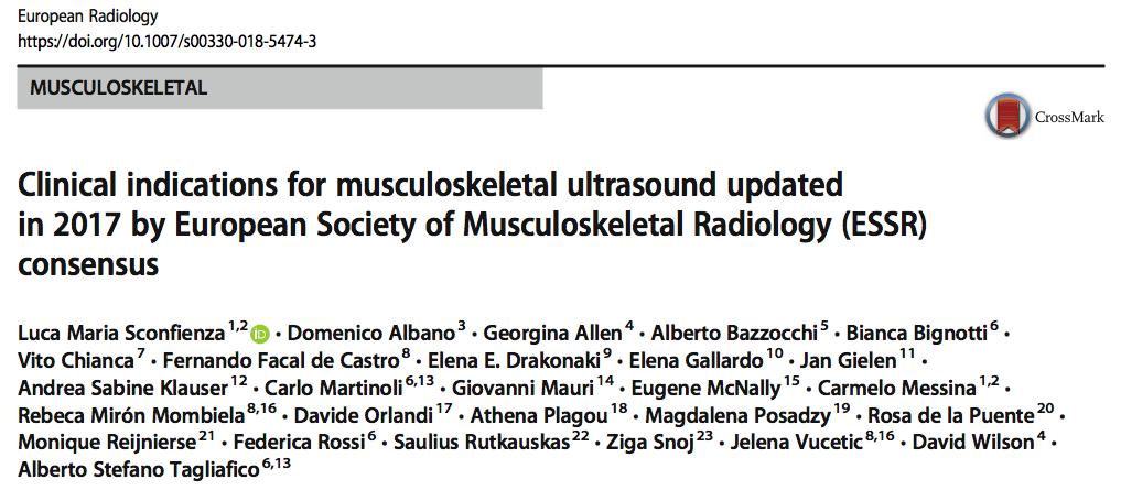 eccografía muscoloesqueléticas