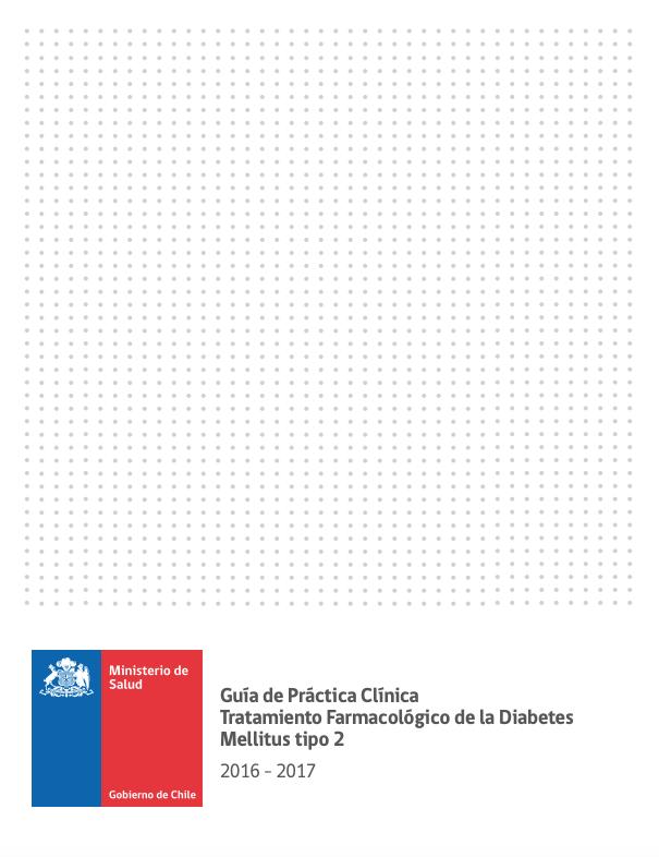 Guía clínica de diabetes MINSALc