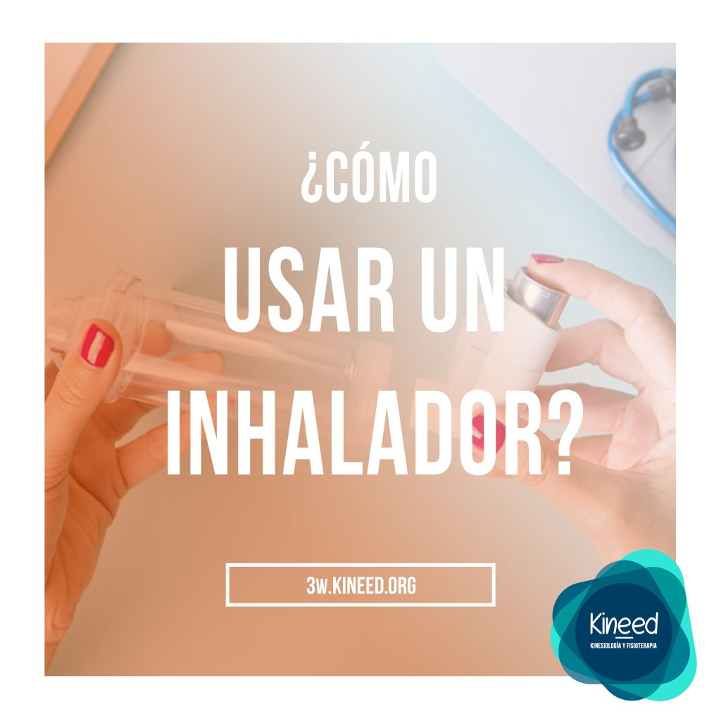 como se usa el inhalador