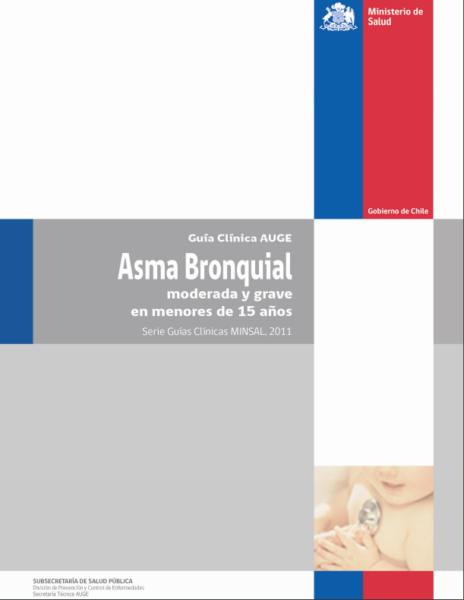 Guía clínica Asma infantil