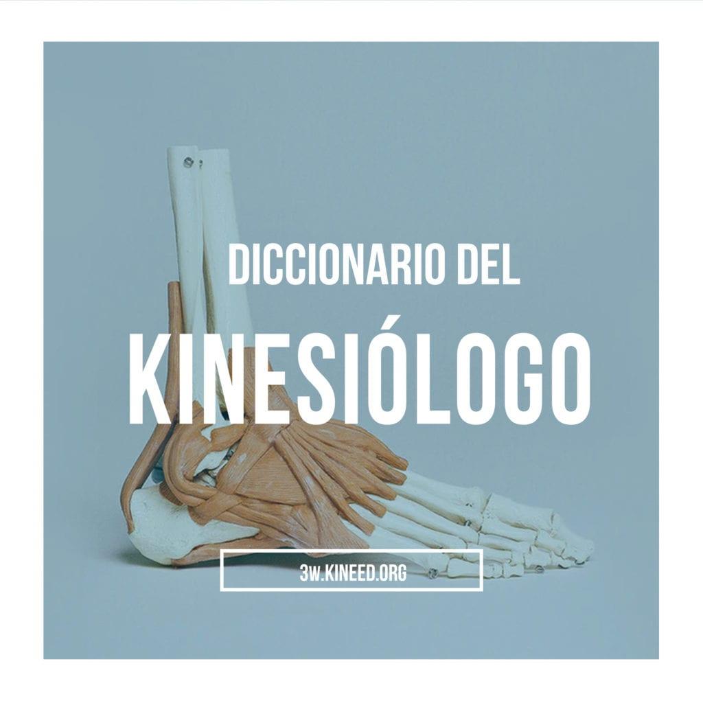 Diccionario del Kinesiólogo