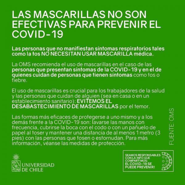 covid-19 mascarillas